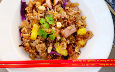 Back Bacon & Pineapple Stir Fried Rice