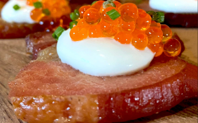 Baker's Bacon and Passmore Caviar